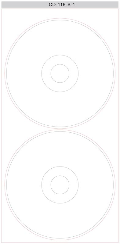 template cd label