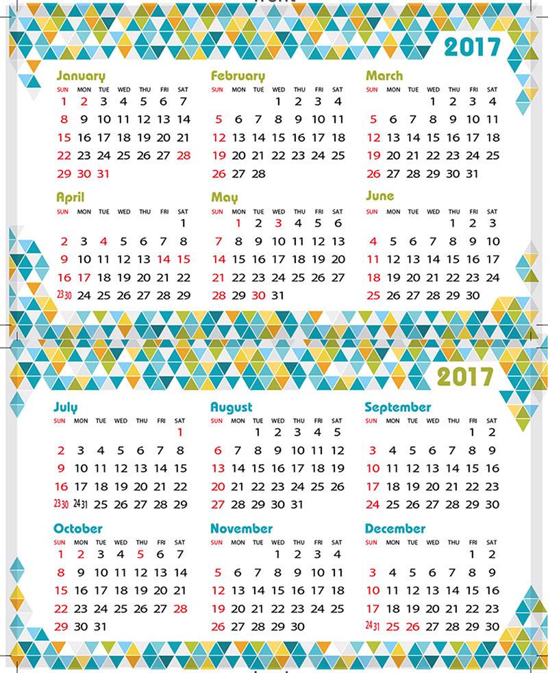 首頁 >下載中心 > 版型 / 刀模下載 > 2017年年曆咭下載 ...